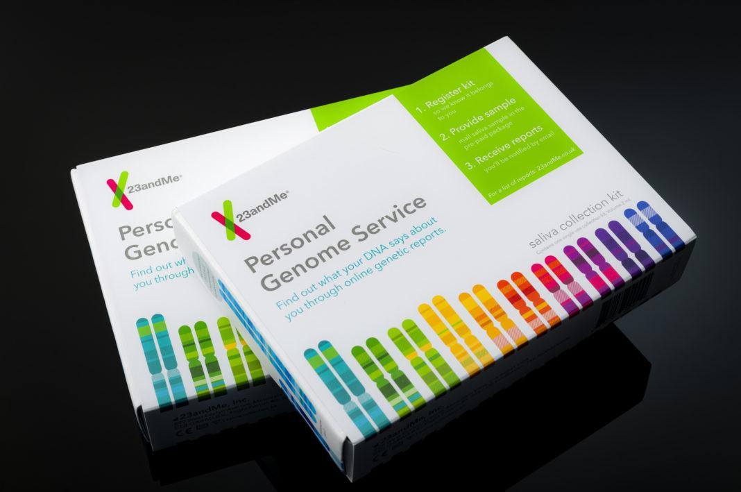 23andMe Genetischer Untersuchungs-Kit