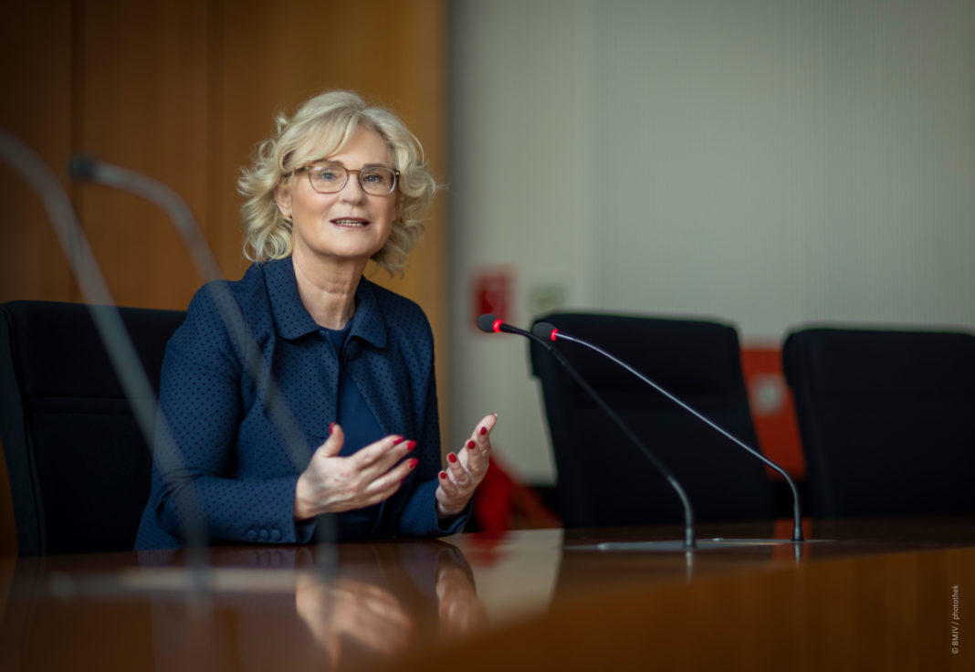 Bundesjustizministerin Christine Lambrecht, SPD.