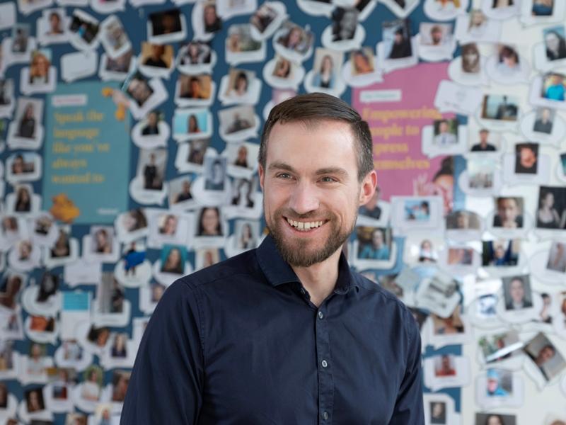 Arne Schepker, CEO Babbel