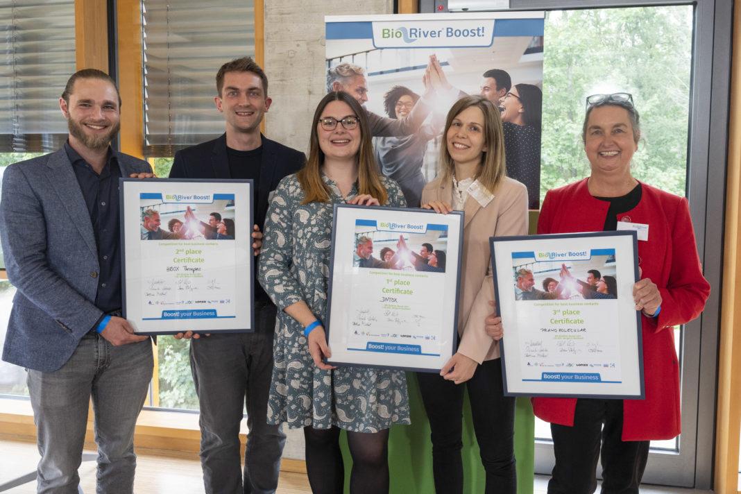 Drei Therapie- und Diagnose-Ansätze als Gewinner des Biotech-Start-Up-Wettbewerbs BioRiver Boost! 2021